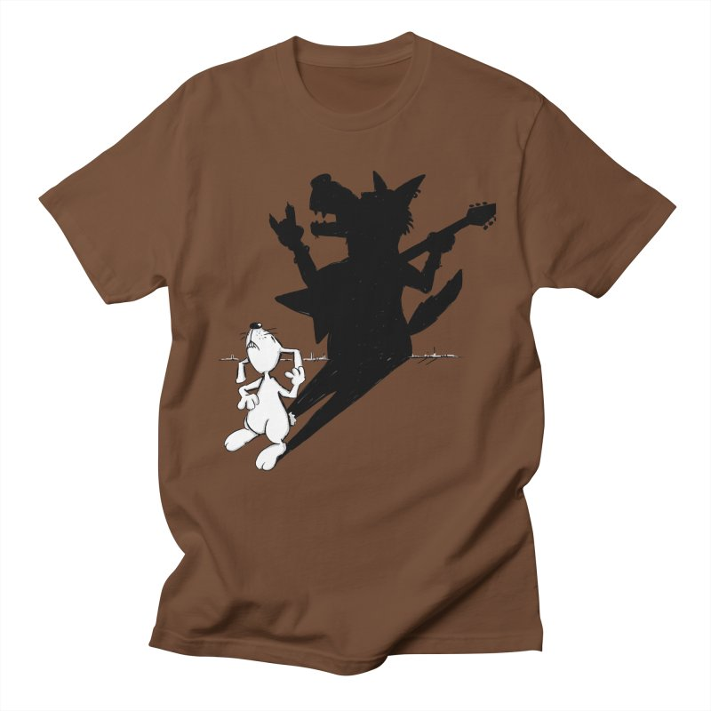 Hare Guitar Men's T-Shirt by Illustrated Madness