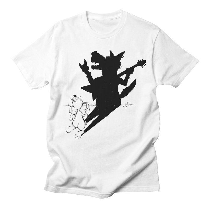 Hare Guitar Women's Unisex T-Shirt by Illustrated Madness