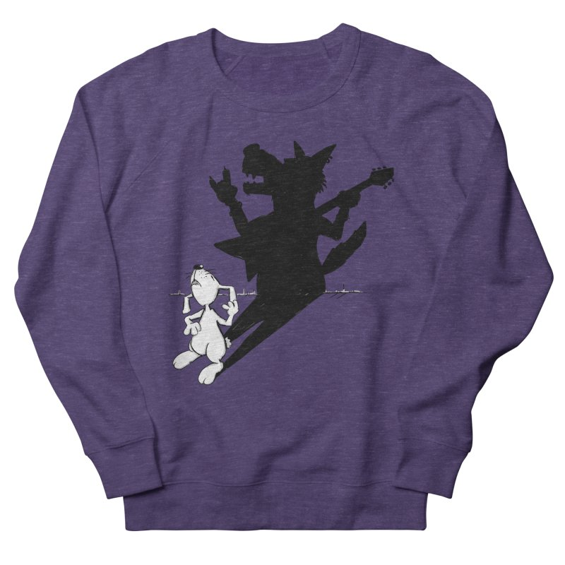 Hare Guitar Women's Sweatshirt by Illustrated Madness