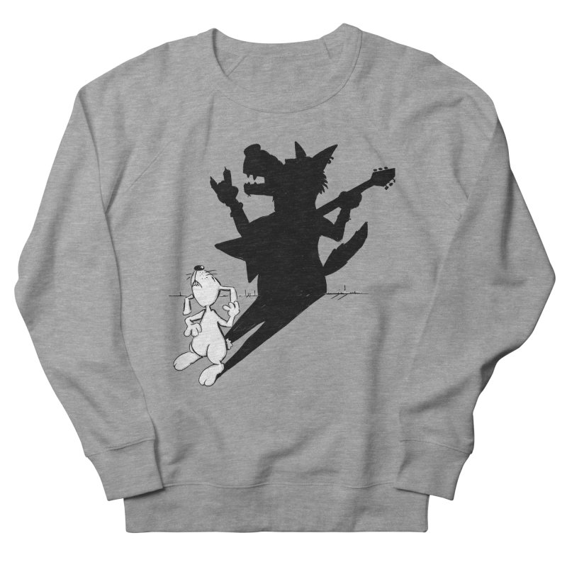 Hare Guitar Men's Sweatshirt by Illustrated Madness