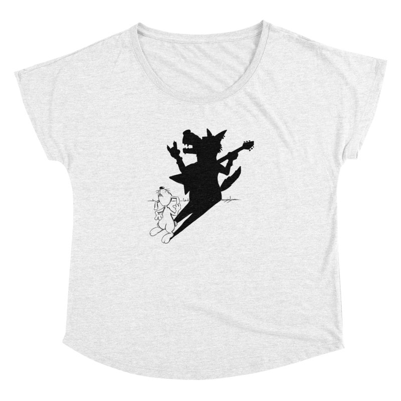 Hare Guitar Women's Dolman by Illustrated Madness