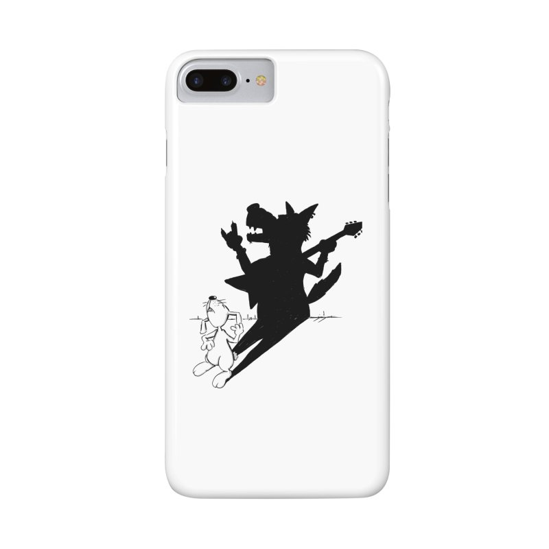Hare Guitar Accessories Phone Case by Illustrated Madness