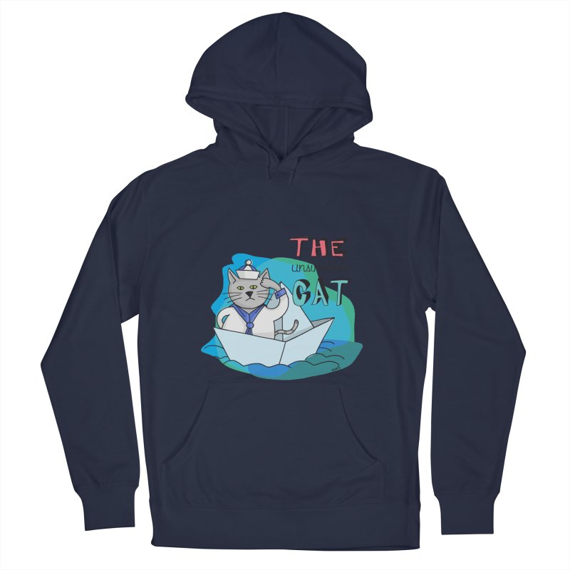 Sam, the unsinkable Cat Men's Pullover Hoody by Illustrated Madness