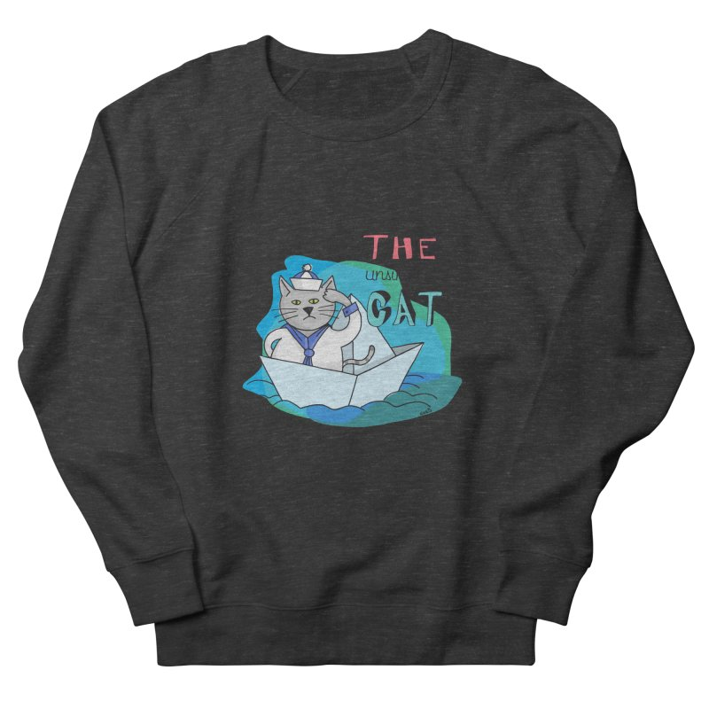 Sam, the unsinkable Cat Women's Sweatshirt by Illustrated Madness