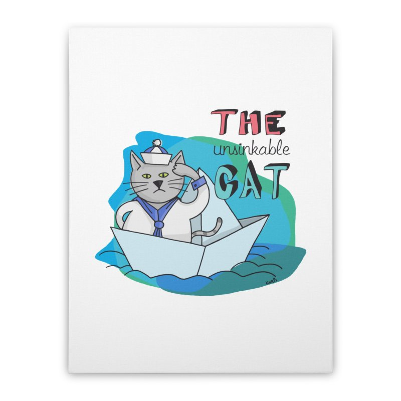 Sam, the unsinkable Cat   by Illustrated Madness