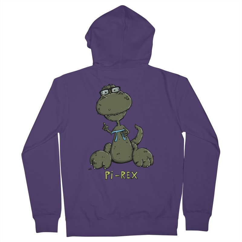 Pi-Rex Women's Zip-Up Hoody by Illustrated Madness