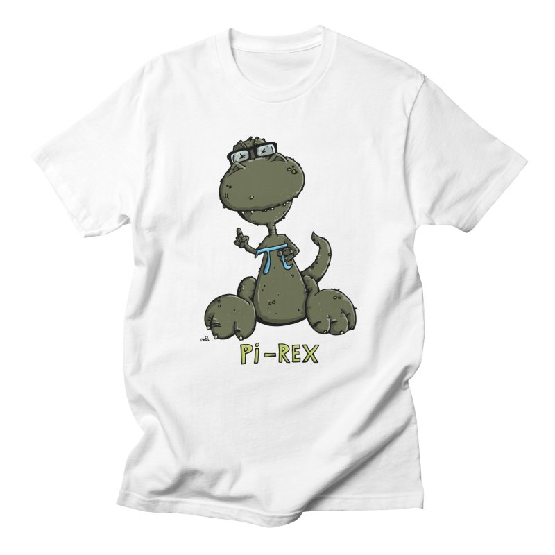 Pi-Rex Men's T-Shirt by Illustrated Madness