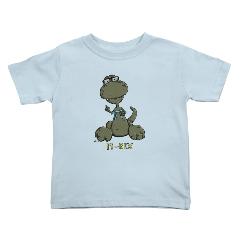 Pi-Rex Kids Toddler T-Shirt by Illustrated Madness