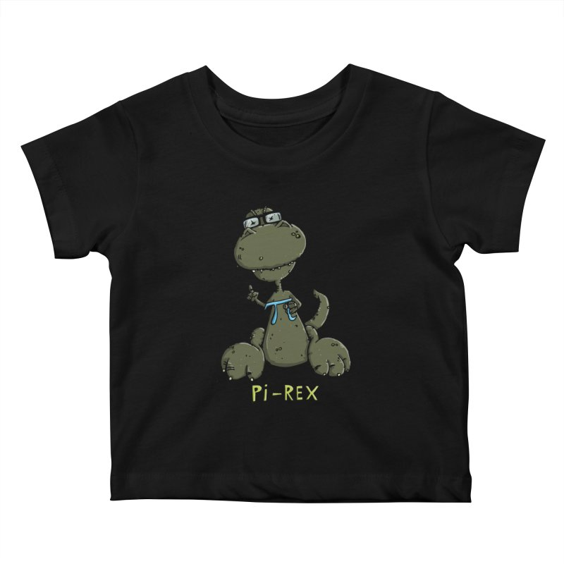Pi-Rex Kids Baby T-Shirt by Illustrated Madness