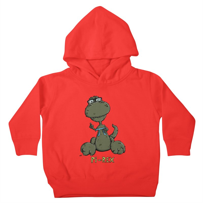 Pi-Rex Kids Toddler Pullover Hoody by Illustrated Madness