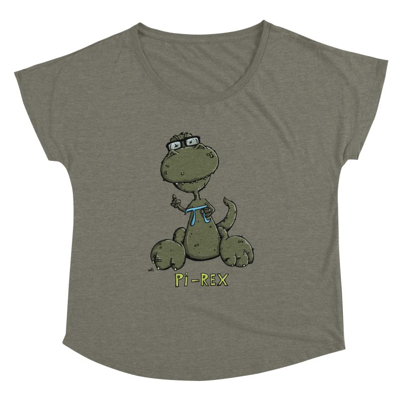 Pi-Rex Women's Dolman by Illustrated Madness