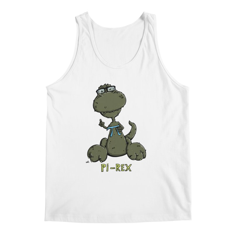 Pi-Rex Men's Tank by Illustrated Madness