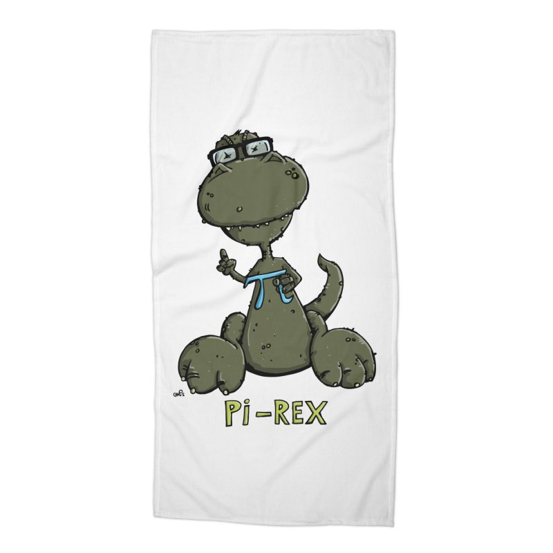 Pi-Rex Accessories Beach Towel by Illustrated Madness