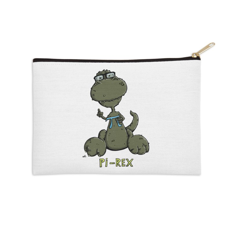 Pi-Rex Accessories Zip Pouch by Illustrated Madness