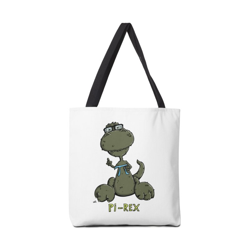 Pi-Rex Accessories Tote Bag Bag by Illustrated Madness