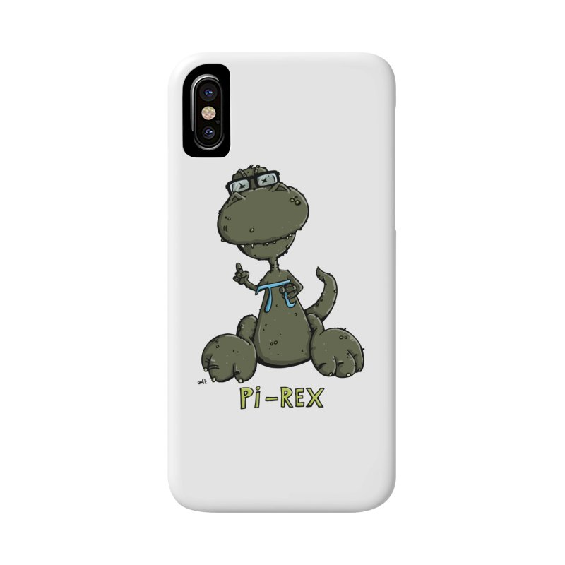 Pi-Rex Accessories Phone Case by Illustrated Madness