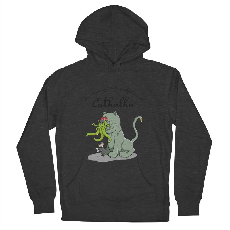 Mr Mousecraft and his faithful Friend Cathulhu Women's Pullover Hoody by Illustrated Madness