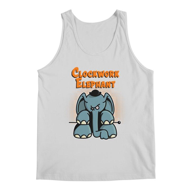 Clockwork Elephant Men's Regular Tank by Illustrated Madness