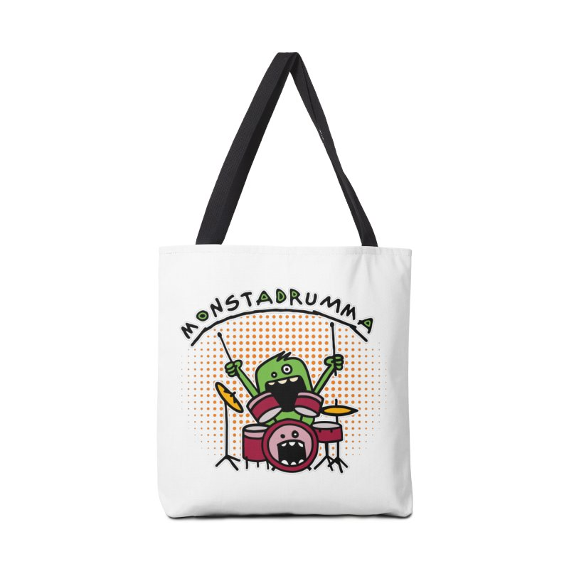Monster Drummer Accessories Bag by Illustrated Madness