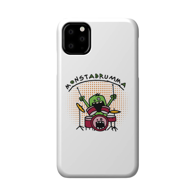 Monster Drummer Accessories Phone Case by Illustrated Madness
