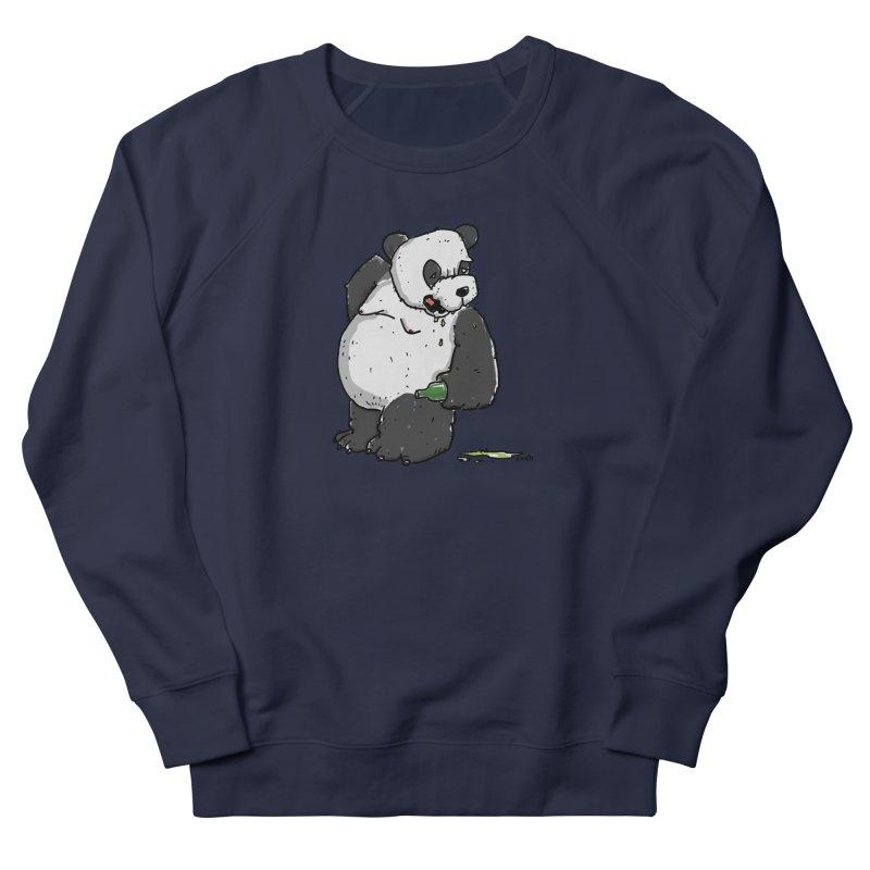 The Panda-Bear drinks Panda-Beer Men's Sweatshirt by Illustrated Madness