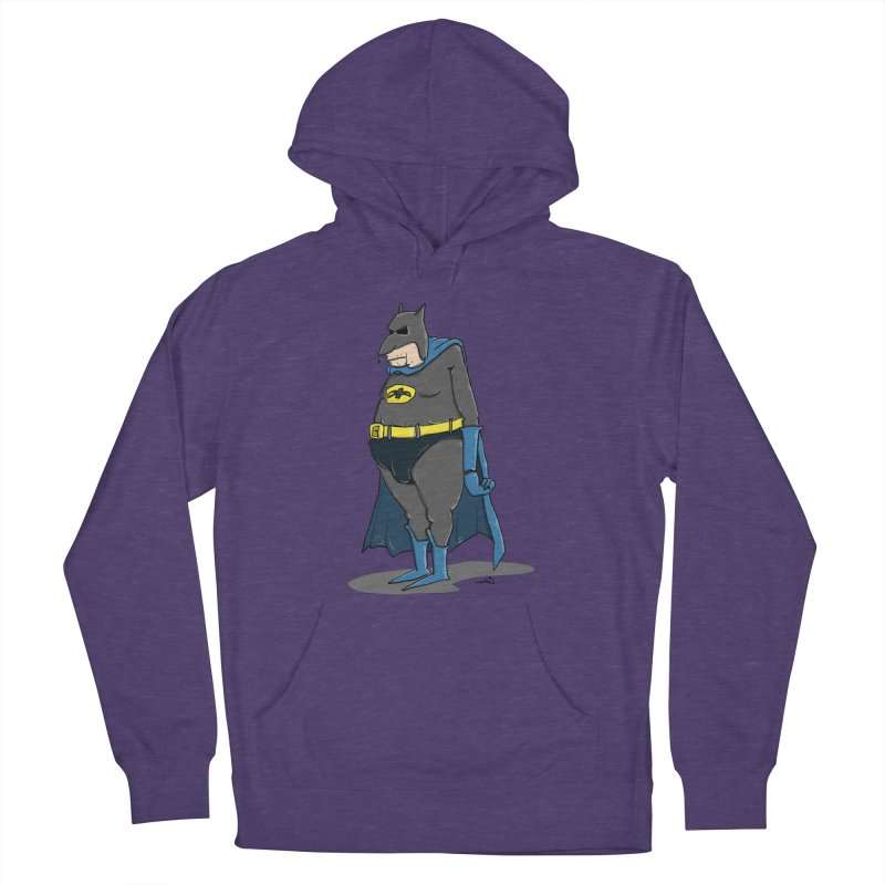Not Bat but Fat. Fatman. Men's Pullover Hoody by Illustrated Madness