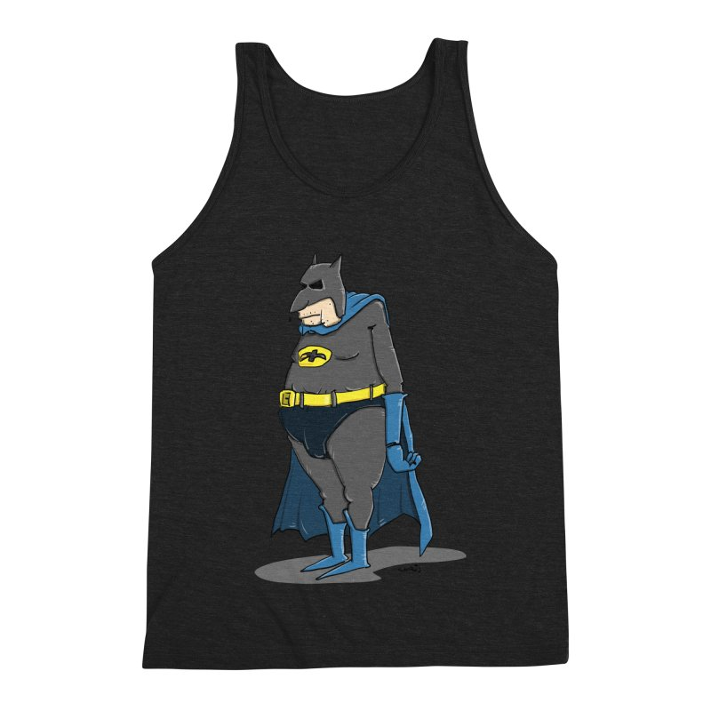 Not Bat but Fat. Fatman. Men's Tank by Illustrated Madness