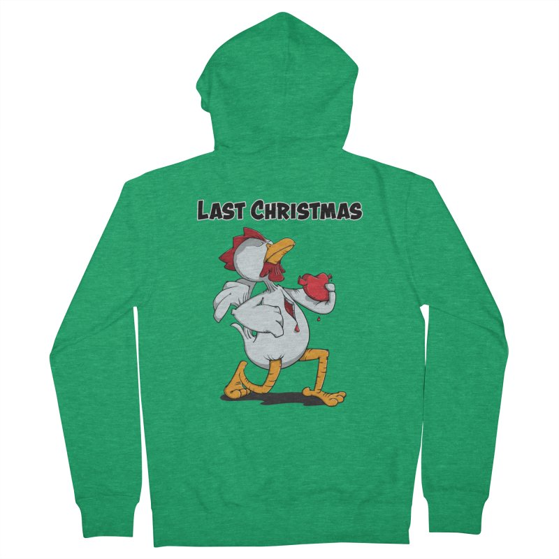 Last Christmas I gave You my Heart Women's Zip-Up Hoody by Illustrated Madness