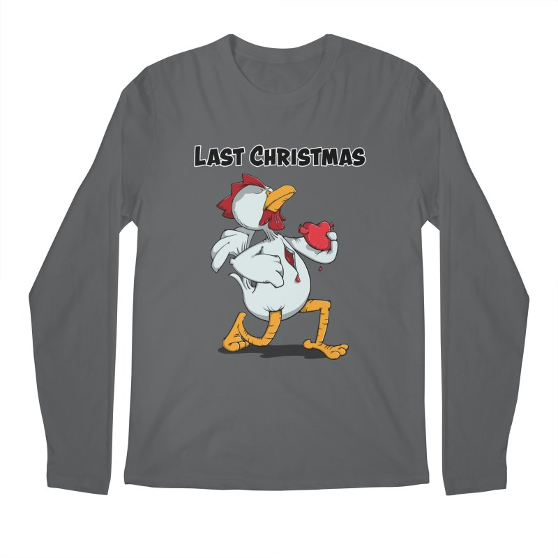 Last Christmas I gave You my Heart Men's Longsleeve T-Shirt by Illustrated Madness