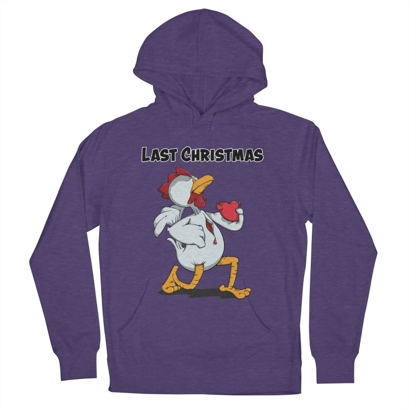 Last Christmas I gave You my Heart Men's French Terry Pullover Hoody by Illustrated Madness