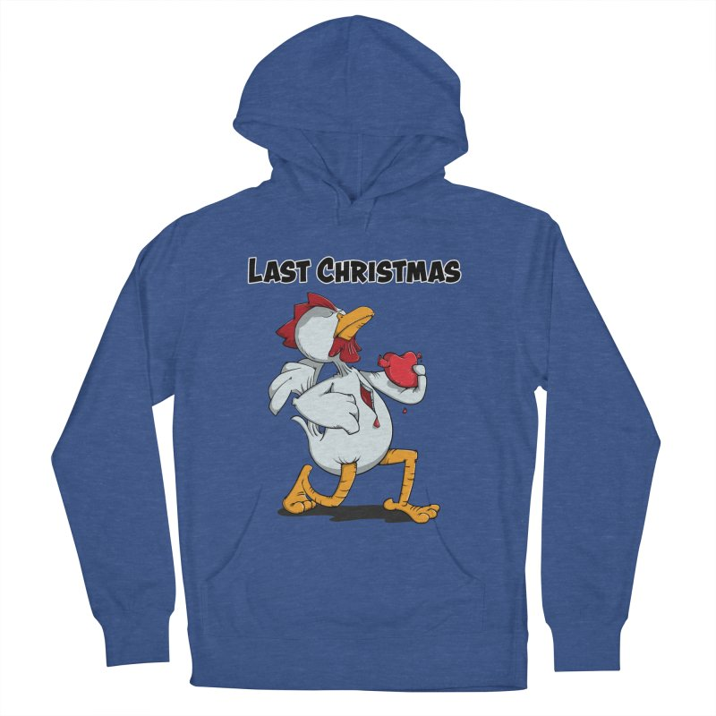 Last Christmas I gave You my Heart Men's Pullover Hoody by Illustrated Madness