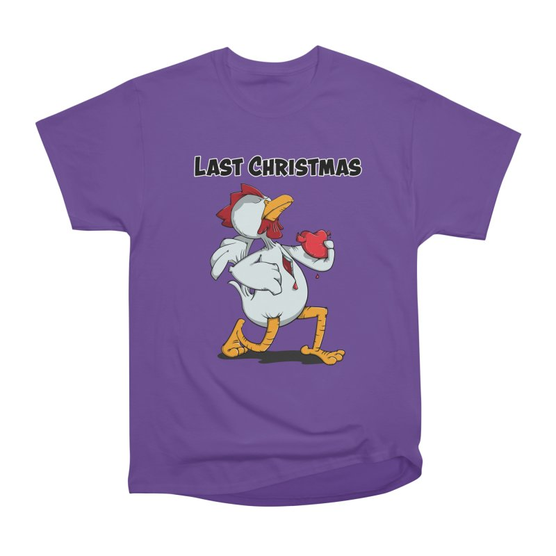Last Christmas I gave You my Heart Men's Heavyweight T-Shirt by Illustrated Madness