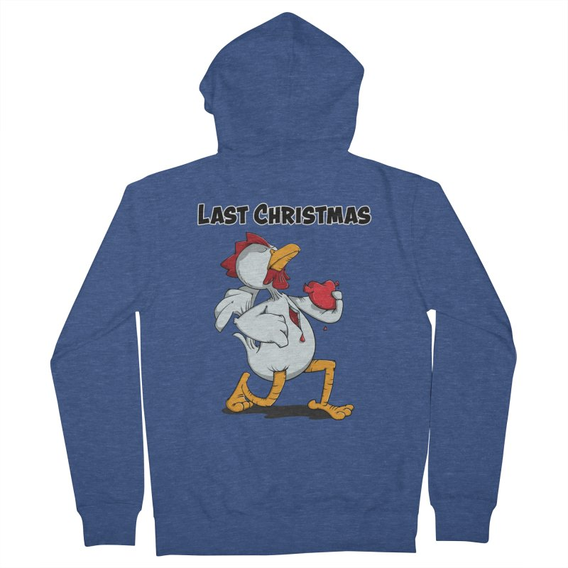 Last Christmas I gave You my Heart Women's French Terry Zip-Up Hoody by Illustrated Madness