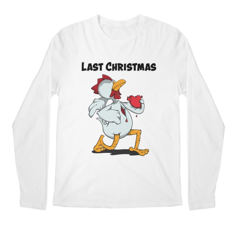 Last Christmas I gave You my Heart Men's Regular Longsleeve T-Shirt by Illustrated Madness