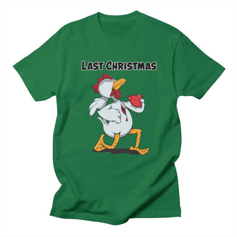 Last Christmas I gave You my Heart Women's Regular Unisex T-Shirt by Illustrated Madness