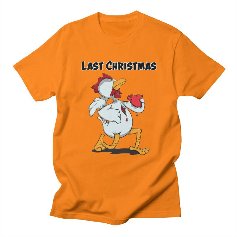 Last Christmas I gave You my Heart Men's T-Shirt by Illustrated Madness