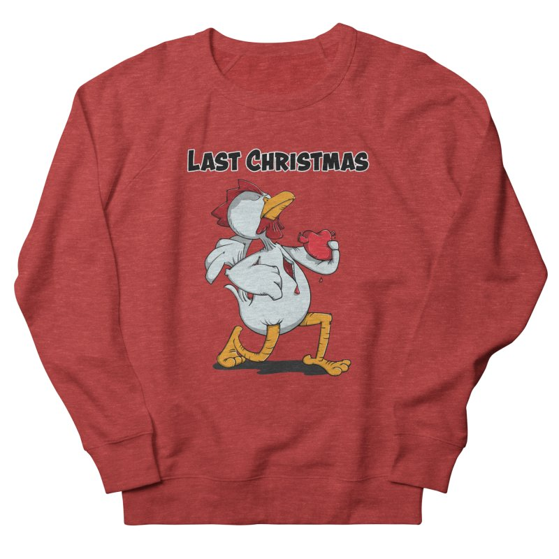Last Christmas I gave You my Heart Men's French Terry Sweatshirt by Illustrated Madness