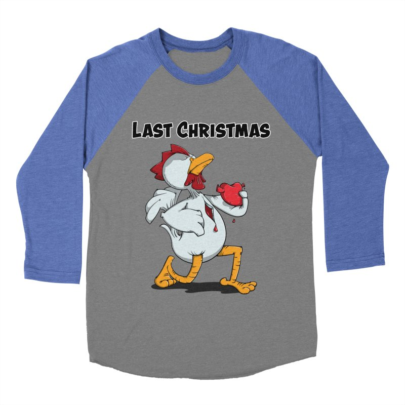 Last Christmas I gave You my Heart Women's Baseball Triblend Longsleeve T-Shirt by Illustrated Madness