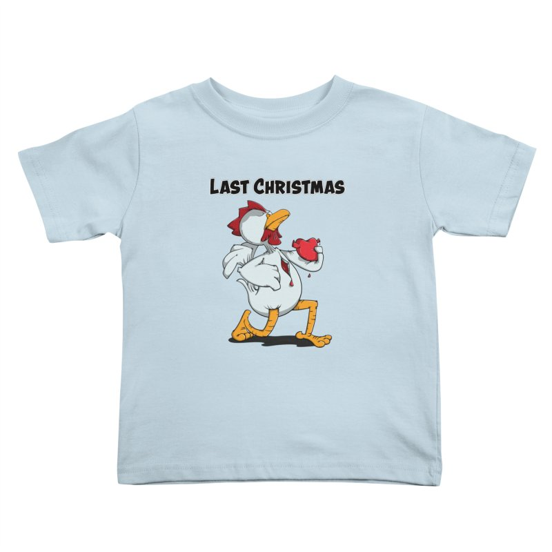 Last Christmas I gave You my Heart Kids Toddler T-Shirt by Illustrated Madness