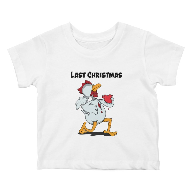 Last Christmas I gave You my Heart Kids Baby T-Shirt by Illustrated Madness