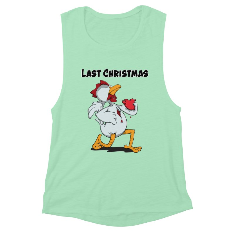 Last Christmas I gave You my Heart Women's Muscle Tank by Illustrated Madness