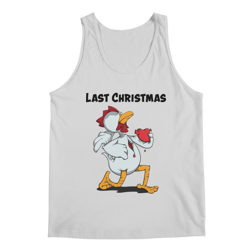 Last Christmas I gave You my Heart Men's Tank by Illustrated Madness