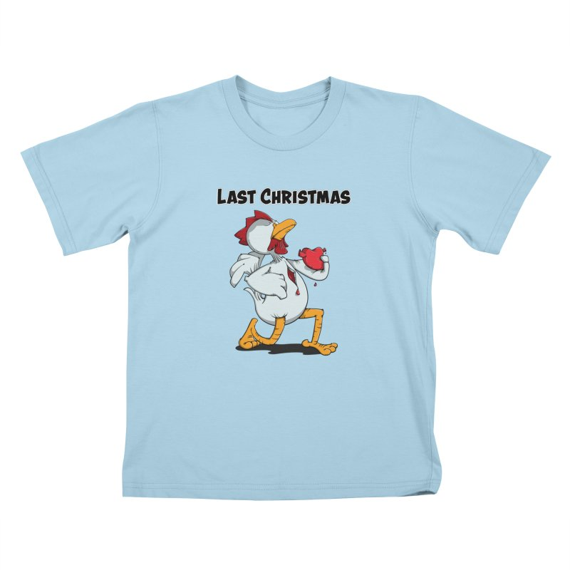 Last Christmas I gave You my Heart Kids T-Shirt by Illustrated Madness