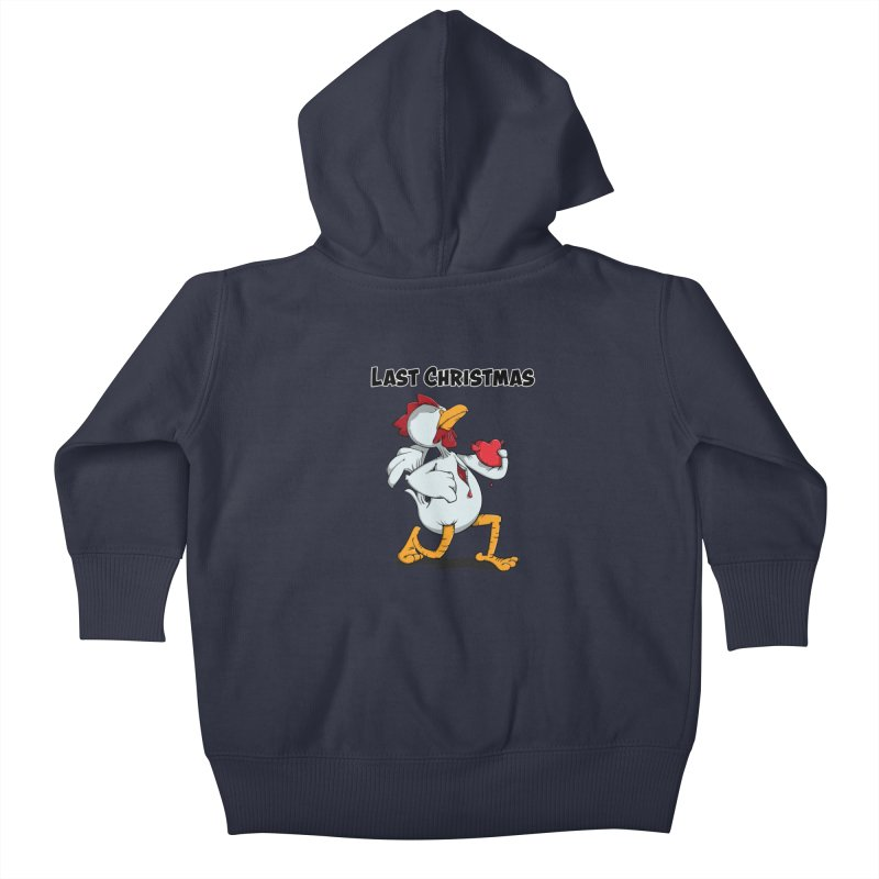 Last Christmas I gave You my Heart Kids Baby Zip-Up Hoody by Illustrated Madness
