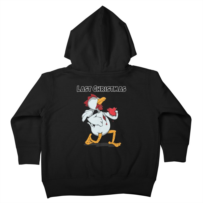 Last Christmas I gave You my Heart Kids Toddler Zip-Up Hoody by Illustrated Madness