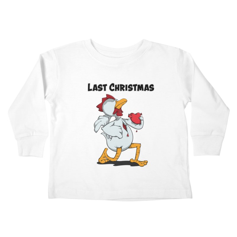 Last Christmas I gave You my Heart Kids Toddler Longsleeve T-Shirt by Illustrated Madness