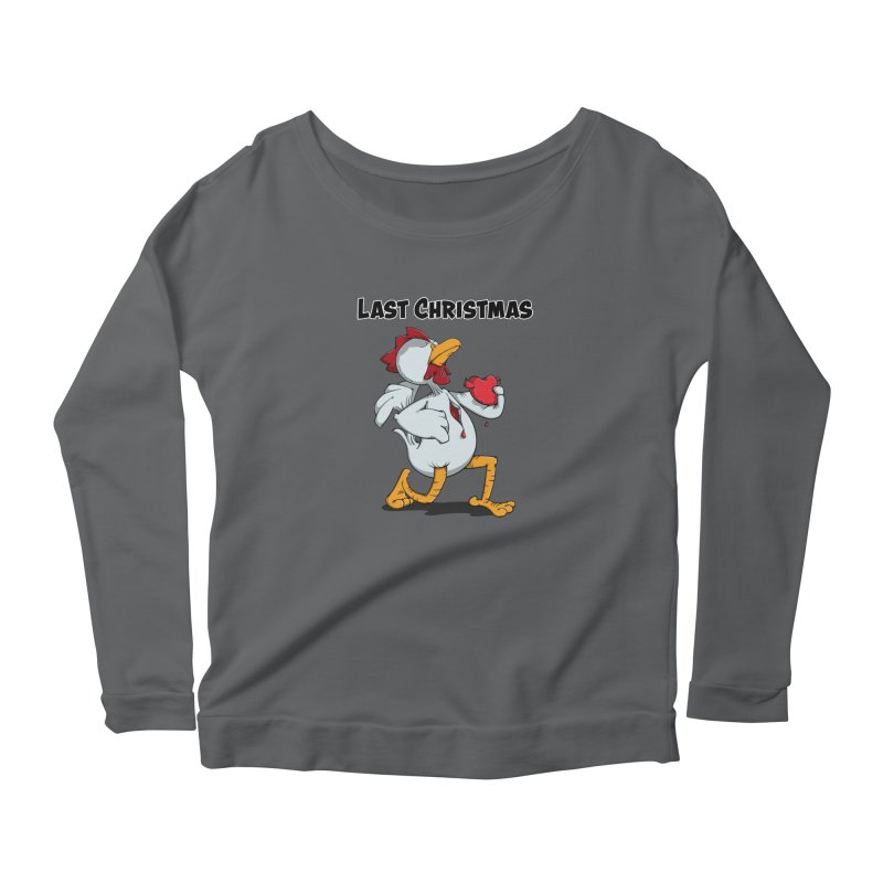 Last Christmas I gave You my Heart Women's Longsleeve T-Shirt by Illustrated Madness