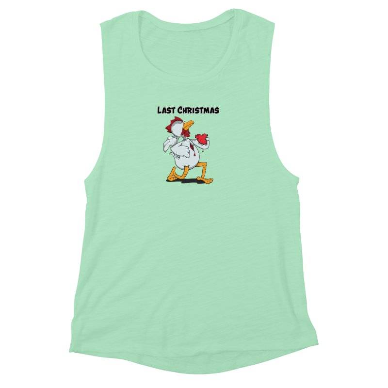 Last Christmas I gave You my Heart Women's Tank by Illustrated Madness