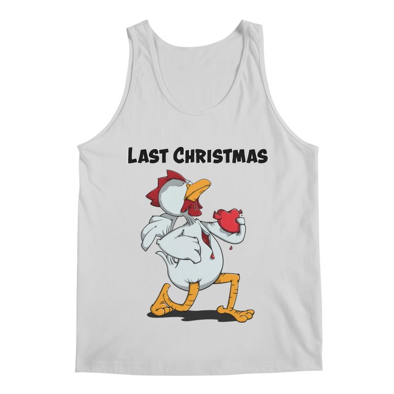 Last Christmas I gave You my Heart Men's Regular Tank by Illustrated Madness