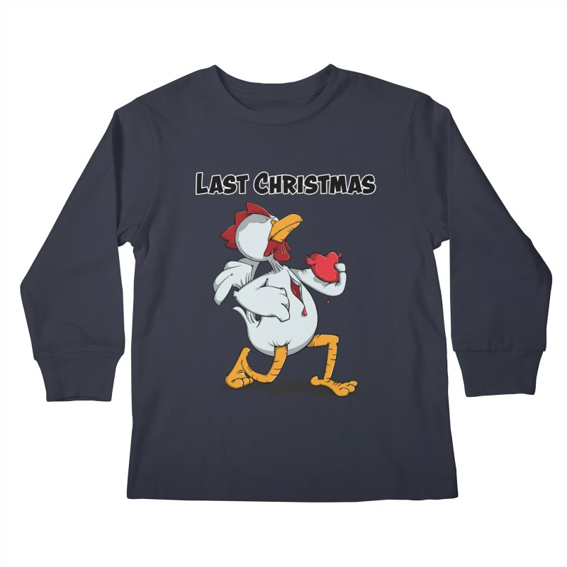 Last Christmas I gave You my Heart Kids Longsleeve T-Shirt by Illustrated Madness